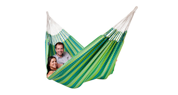 La Siesta Carolina Double hamac plus vert
